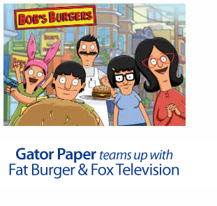 Gator Paper Joins Up With Fox TV