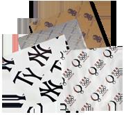 Custom Printed Food Wraps & Basket Liners
