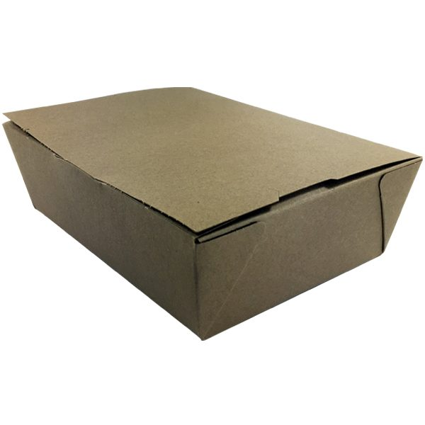 Kraft To Go Boxes - Unprinted